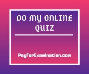 Do My Online Quiz